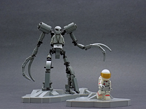 Because aliens and mechs are cool, that's why.