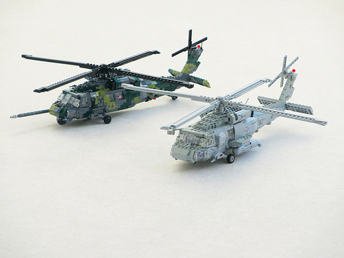 HH-60G Pave Hawk and SH-60F Seahawk