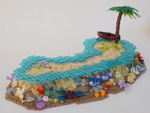 TT:R2: On Coral Sandbar