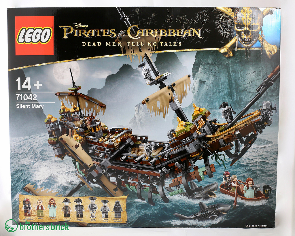 Lego Pirates Of The Caribbean Dead Men Tell No Tales