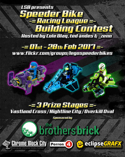 Speeder Bike 'Racing League' Building Contest 2017