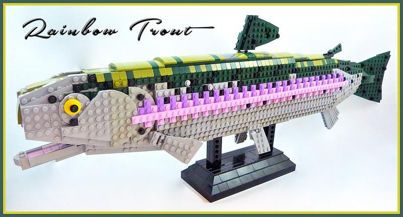 LEGO Rainbow Trout