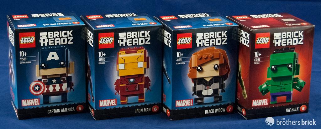 LEGO Brickheadz Marvel