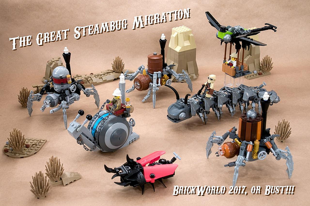 The Great Steambug Migration - BW17