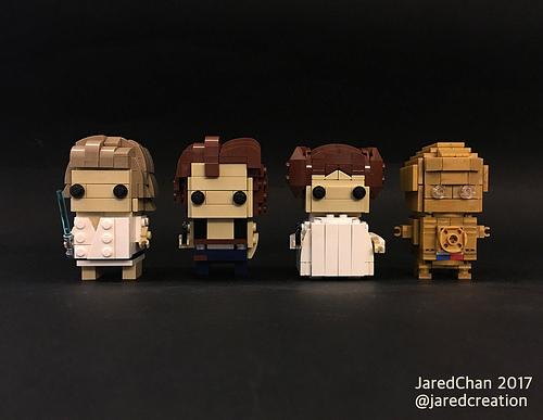 Star Wars Brickheadz (2017)