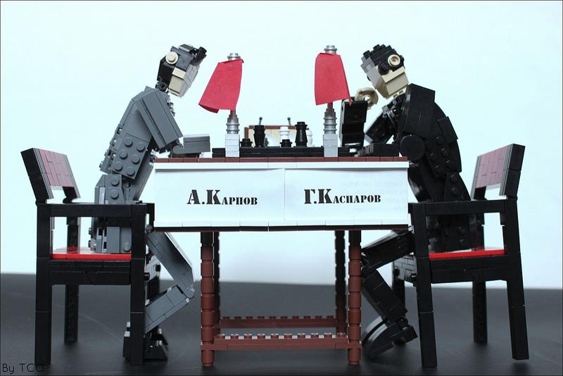 A.Karpov vs G.Kasparov, 1984-1985