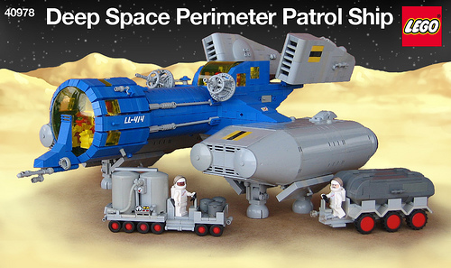 LEGO Neo-Classic Space ship by nnenn