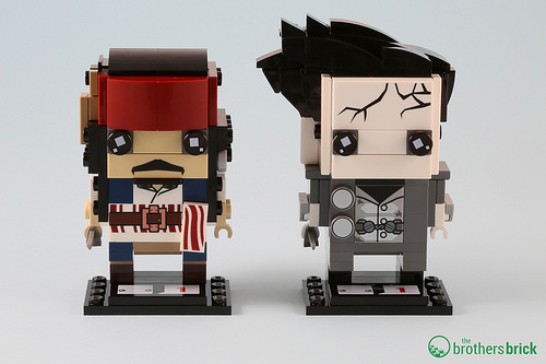 41593 Captain Jack Sparrow and 41594 Captain Armando Salazar