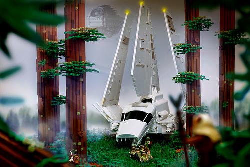 Shuttle Tydirium Endor