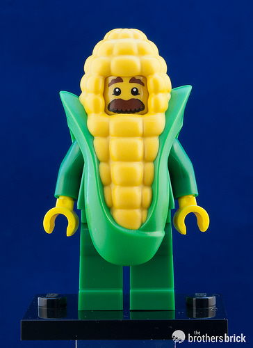 LEGO-MINIFIGURES SERIES X 1 HEAD FOR THE CORN COB GUY FROM SERIES 17 PART 17