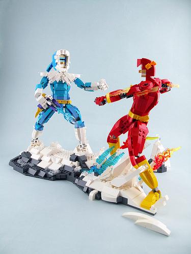 The Flash VS Captain Cold