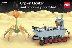 Ugokin Cloaker and Troop Support Sled
