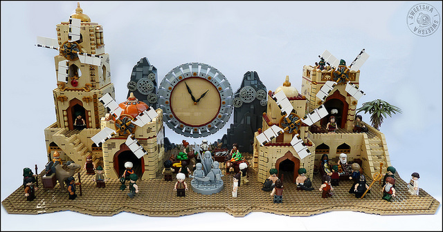 A city of sand, wind and time