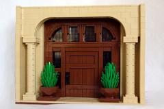 LEGO doorway