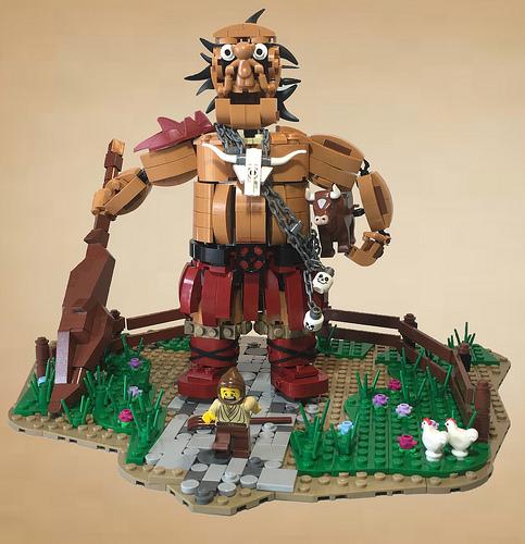Hill Giant Cattle Farmer