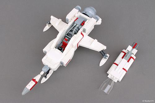 UFO | S.H.A.D.O. Interceptor - interior