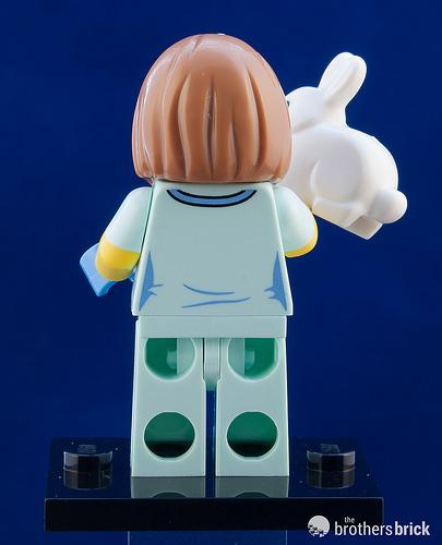 LEGO New Light Aqua Female Minifigure Legs with Veterinarian ID Badge Pattern