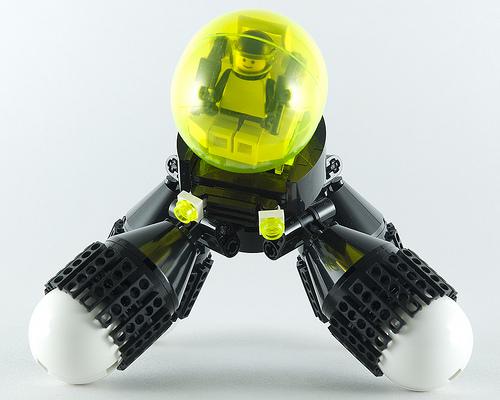 Quadrax Blacktron Rover LEGO