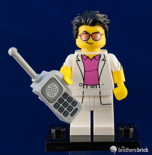 Yuppie New Lego Minifigures Series 17 71018