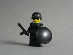 LEGO riot police
