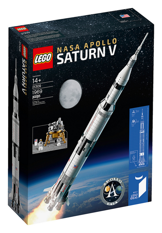 21309 Nasa Apollo Saturn V