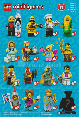 Series 17 Minifigures LEGO 71018 NEW in Open Bag