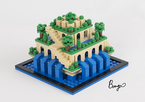 Hanging Gardens of Babylon LEGO