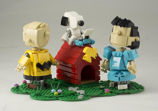 Lego peanuts