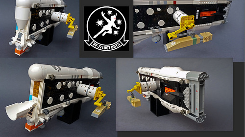 Consolidated Norinco ORCA Starfighter LEGO details