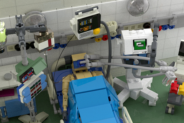 Intensive care unit.