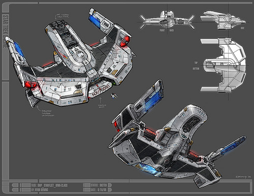 USS Iowa Concept Art