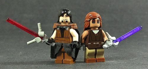 LEGO Star Wars custom minifigs