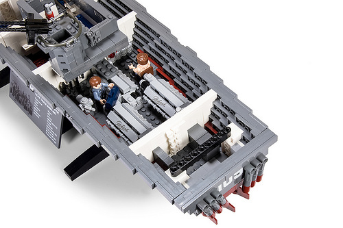 John F  Kennedy's PT-109 WW2 torpedo boat recreated in LEGO