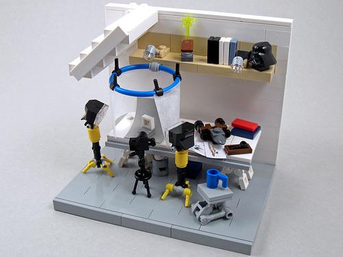 Larry Lars' LEGO Room