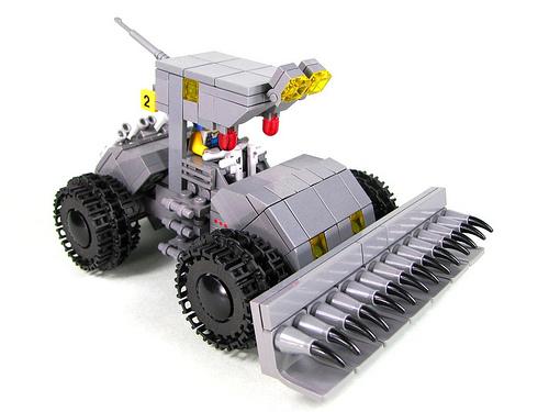 LEGO utility tractor