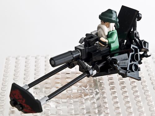 Clone Jedi Elite Captain Glorious' swoop