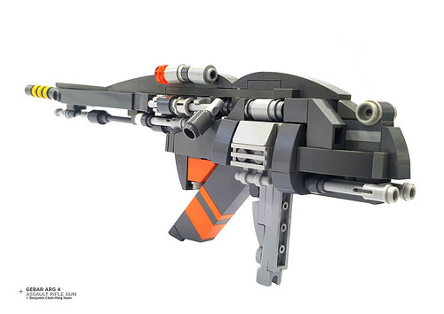 Gebar ARG 4 Assault Rifle Gun