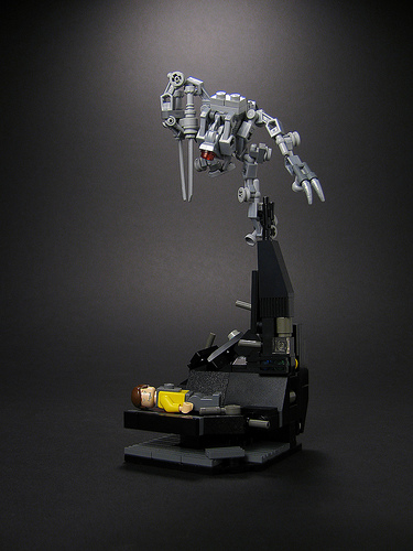 Lego death from above