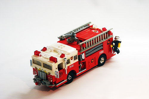 LEGO fire engine