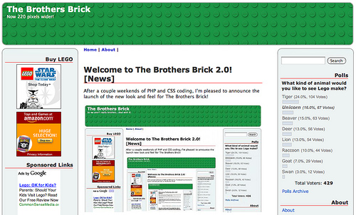 The Brothers Brick 2.0
