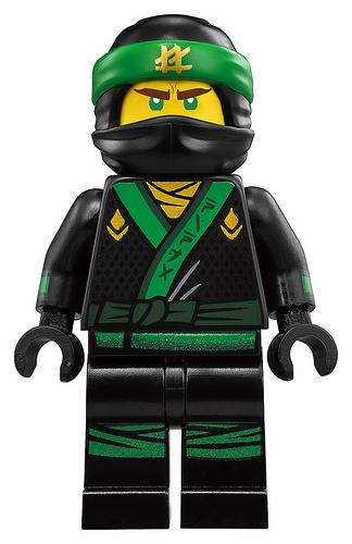 70612 Green Ninja Mech Dragon