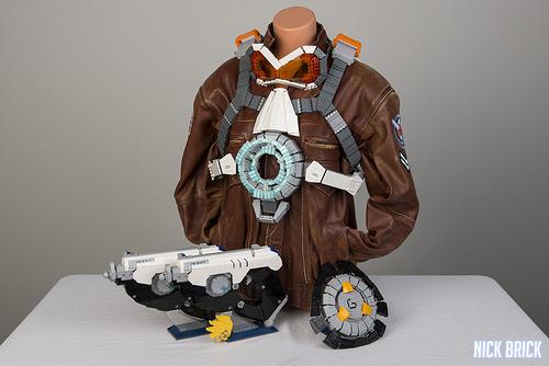 Tracer's full arsenal - Overwatch