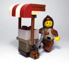 LEGO CMOT Dibbler minifig