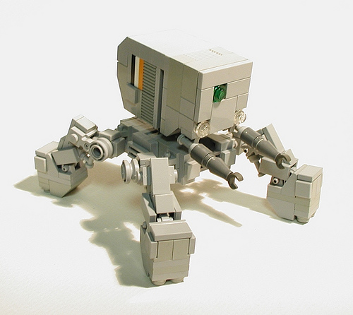 LEGO Izmojuki maintenance mecha