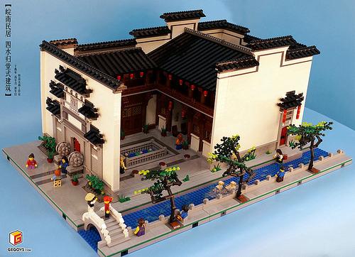 Chinese architecture-the Huizhou-style folk dwelling houses