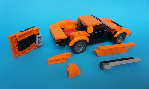 Lego 1971 Lamborghini Miura P400SV - Speed Champions How To 02