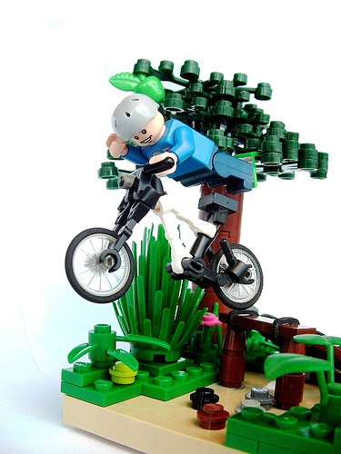 Lego bicycle