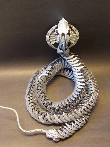 LEGO cobra snake