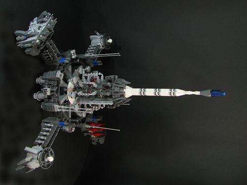 LEGO Orbital Ion Cannon