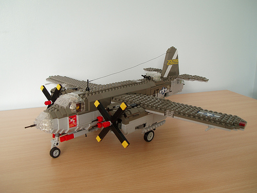 LEGO Martin B-26 Maurader bomber